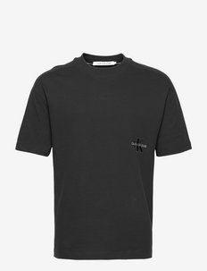 OFF PLACED OVERSIZED ICONIC TEE - t-shirts à manches courtes - ck black
