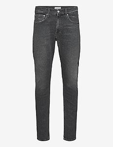 CKJ 058 SLIM TAPER - slim jeans - denim black