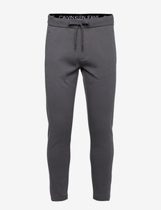 MICRO FLOCK BOX HWK PANT - spodnie dresowe - gray pinstripe
