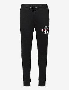 MONOGRAM JOG PANT - spodnie dresowe - ck black