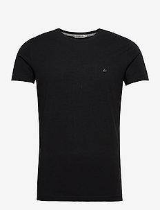 BUCKY CN TEE SS - kortermede t-skjorter - ck black