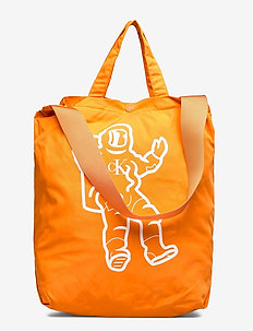 GRAPHIC TOTE BAG - vesker - orange tiger