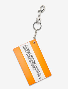 LOGO KEYCHAIN - sleutelringen - fluoro orange