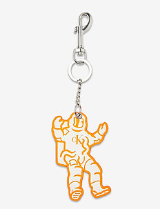 GRAPHIC KEYCHAIN - sleutelringen - fluoro orange
