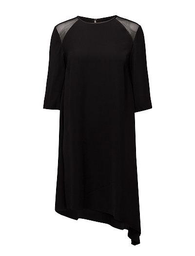 Danaka Mm Asym Dress Kurzes Kleid Schwarz CALVIN KLEIN JEANS | CALVIN KLEIN SALE
