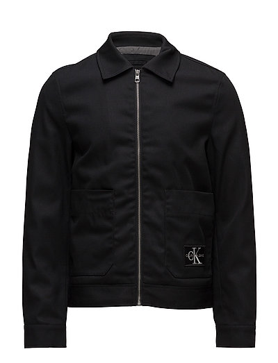 DOUBLE POCKET FIELD JACKET - CK BLACK