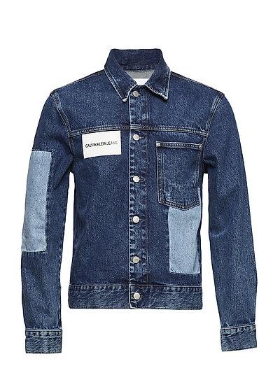 Patched 1 Pocket Tru Jeansjacke Denimjacke Blau CALVIN KLEIN JEANS | CALVIN KLEIN SALE