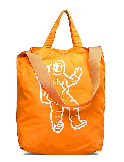 Graphic Tote Bag Shopper Tasche Orange CALVIN KLEIN JEANS