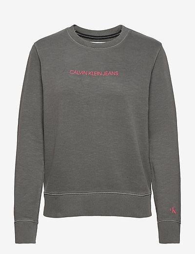 SHRUNKEN INSTITUTIONAL GMD CN - gensere og hettegensere - aluminium grey