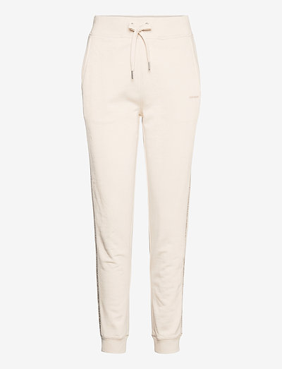 LOGO TRIM JOGGING PANT - tøj - white sand