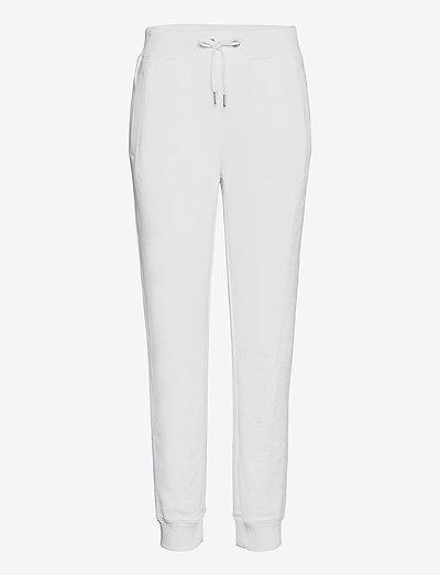 INSTITUTIONAL LOGO JOGGING PANT - clothing - bright white