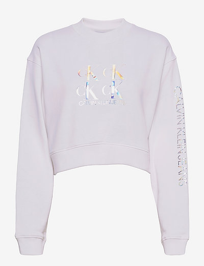 SHINE LOGO CREW NECK - sweatshirts & hoodies - bright white