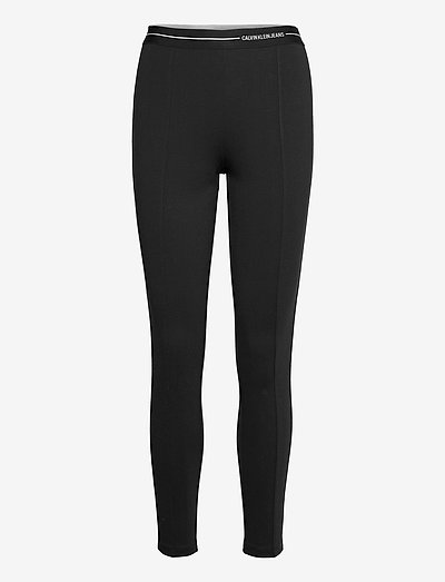 MILANO LOGO ELASTIC LEGGING - leggings - ck black