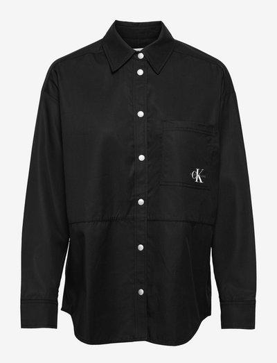 OVERSHIRT - overshirts - ck black