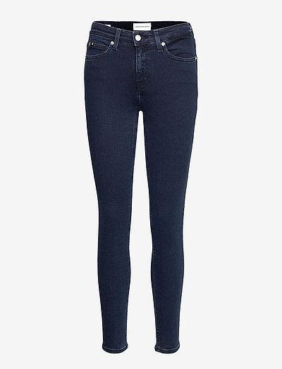 MID RISE SKINNY - skinny jeans - denim dark