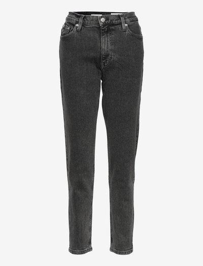 MOM JEAN - mom jeans - denim grey