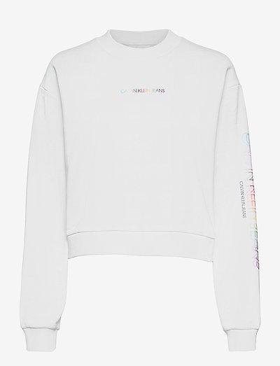 PRIDE HWK CN - sweatshirts & hættetrøjer - bright white