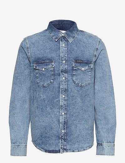 MODERN WESTERN SHIRT - basic overhemden - denim light
