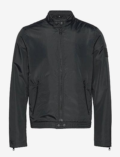 NYLON BIKER JACKET - vestes légères - ck black