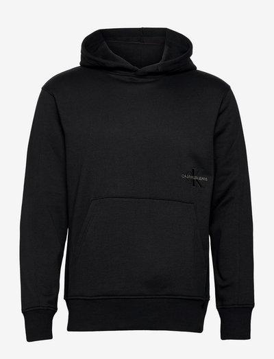 OFF PLACED ICONIC HOODIE - hoodies - ck black