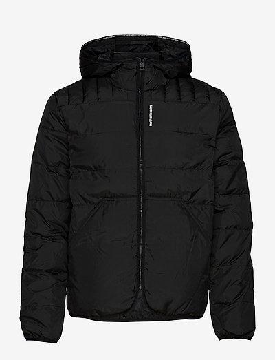 PADDED JACKET - vestes matelassées - ck black