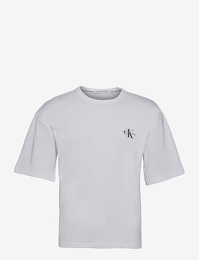 MONOGRAM MODERN RELAXED FIT TEE - t-shirts basiques - bright white