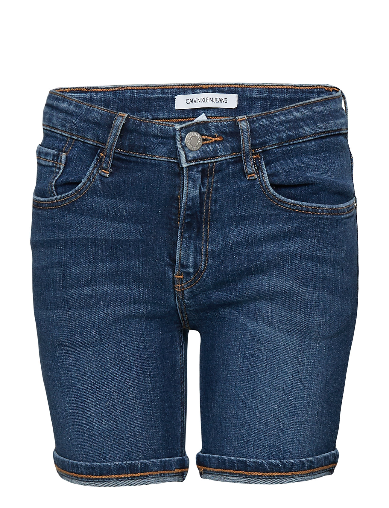 Calvin Klein SLIM SHORT EPPING H/ - EPPING HIGH LOW STRETCH