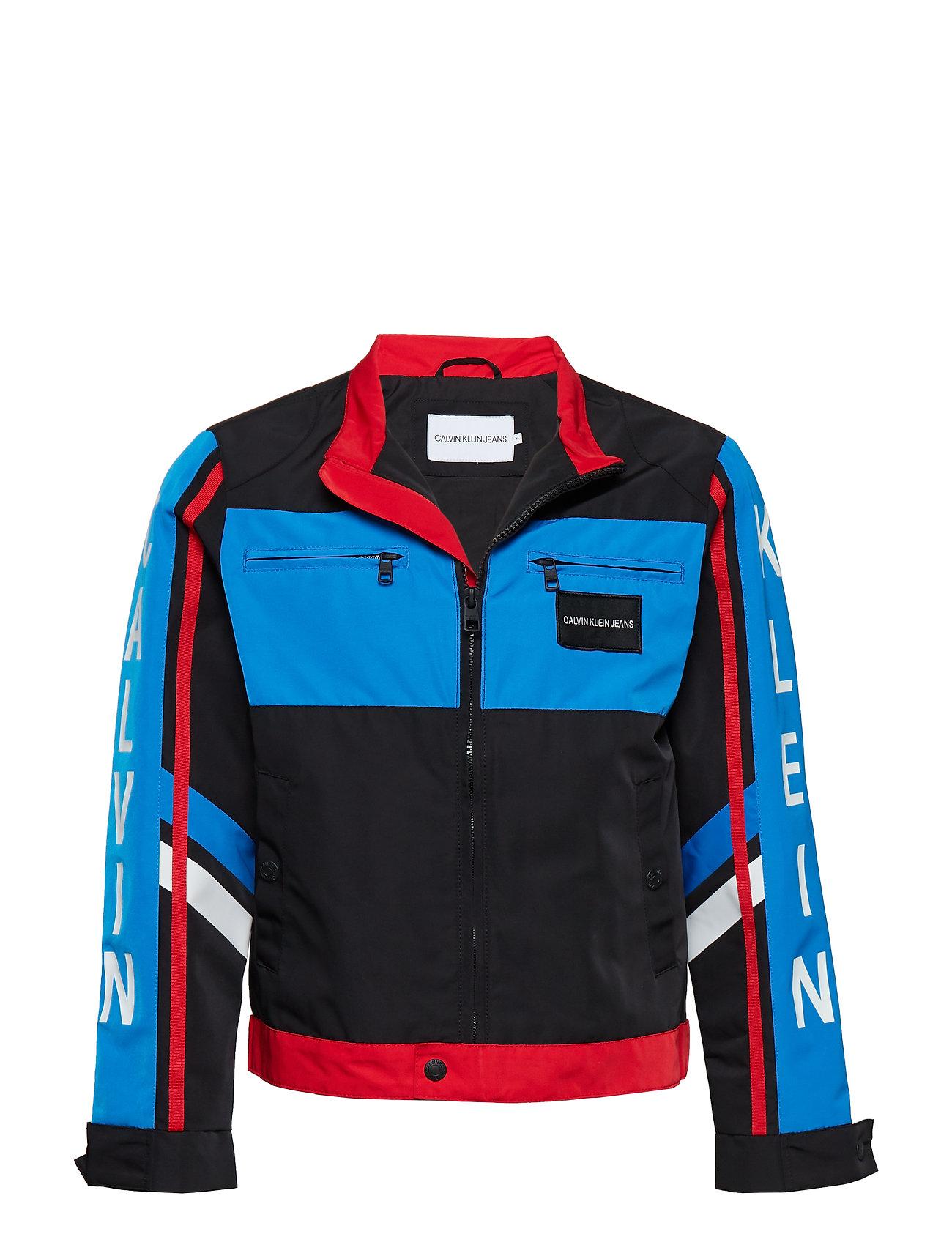 Calvin Klein BMX JACKET - BLACK BEAUTY