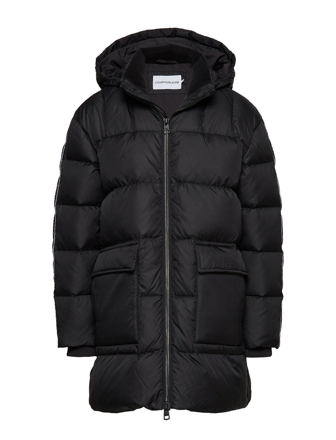 Calvin Klein DOWN LOGO TAPE LONG - BLACK