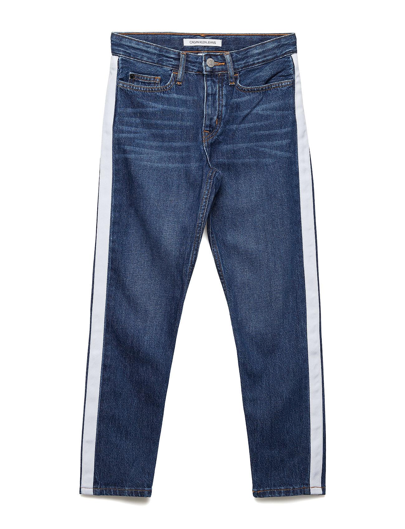 Calvin Klein BOYFRIEND IZON MID B - IZON MID BLUE RIGID