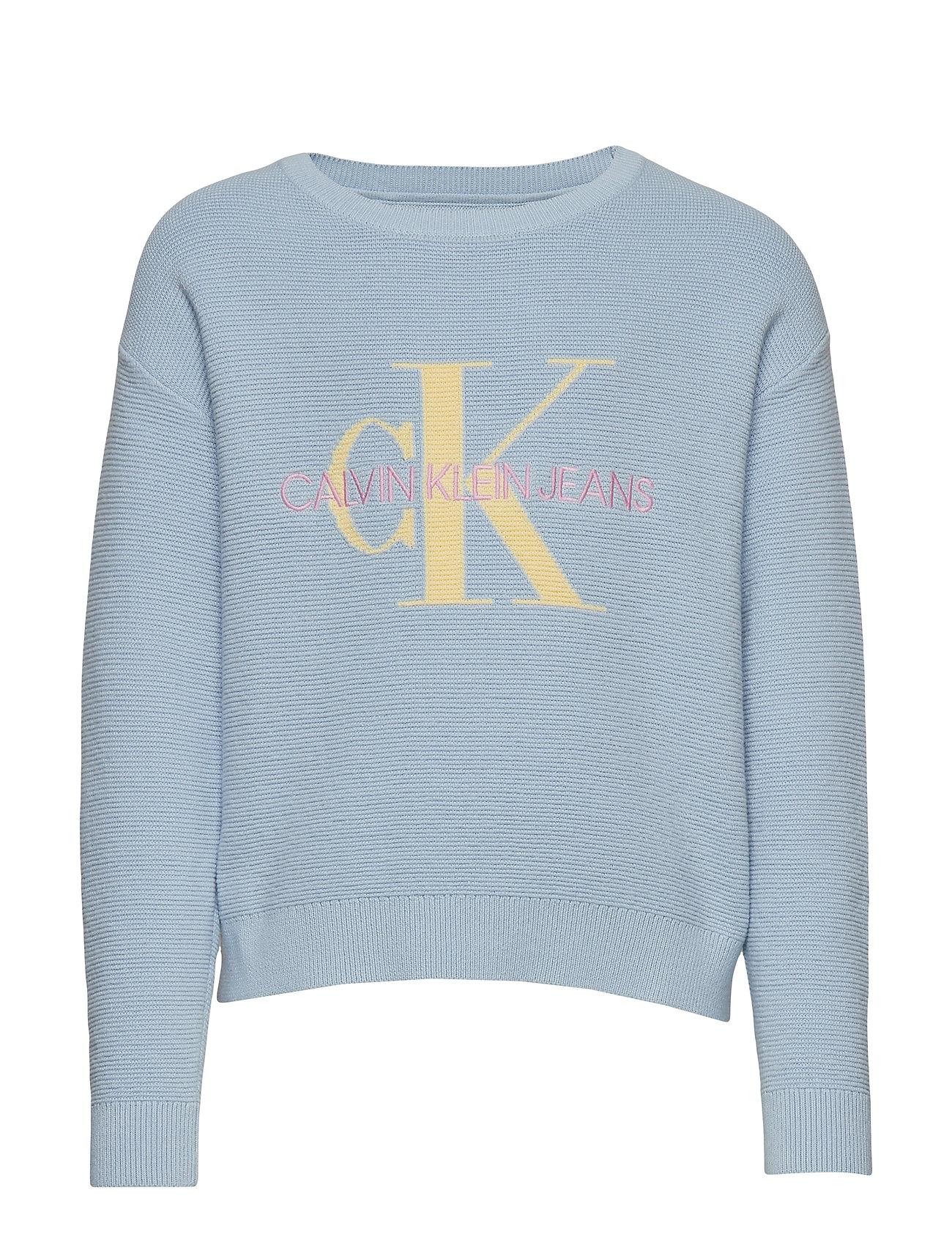 Calvin Klein MONOGRAM ORGANIC COT - SKYWAY