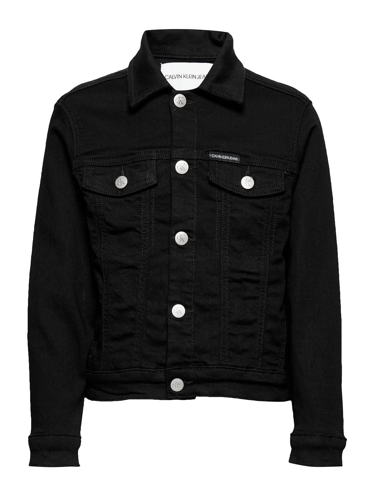 Calvin Klein UNISEX TRUCKER SUST BLACK STR - SUST BLACK STRETCH
