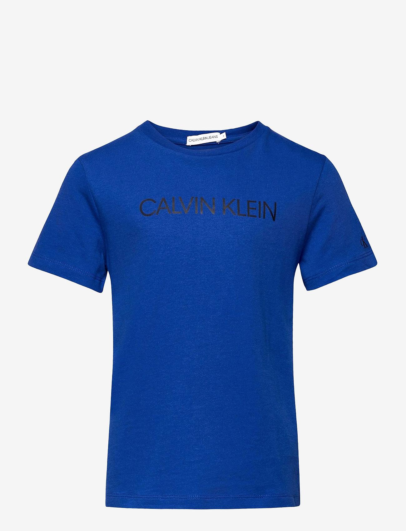 Calvin Klein - INSTITUTIONAL SS T-SHIRT - t-shirts - ultra blue - 0