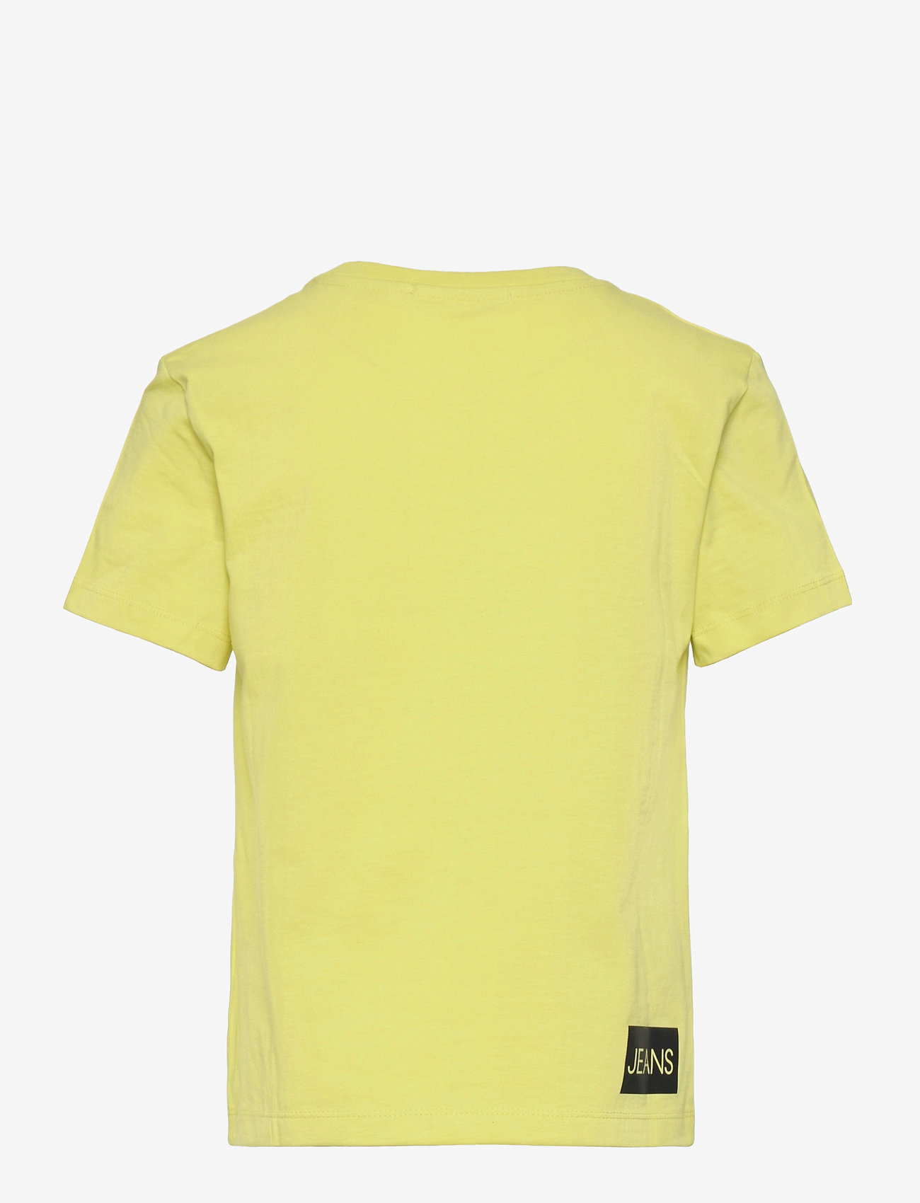 Calvin Klein - INSTITUTIONAL SS T-SHIRT - t-shirts - yellow lime - 1