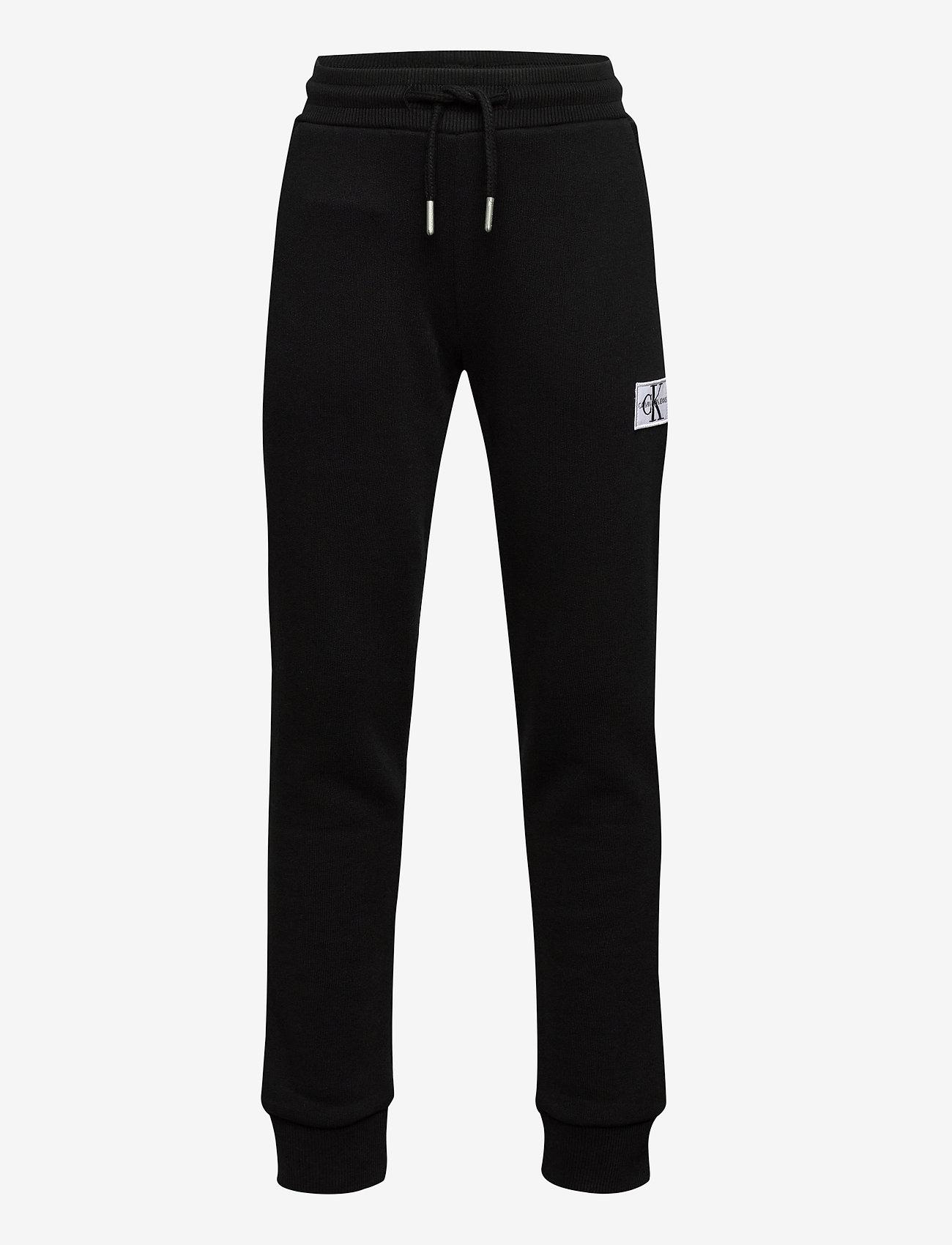 Calvin Klein - MONOGRAM SWEATPANTS - joggingbroek - ck black - 0