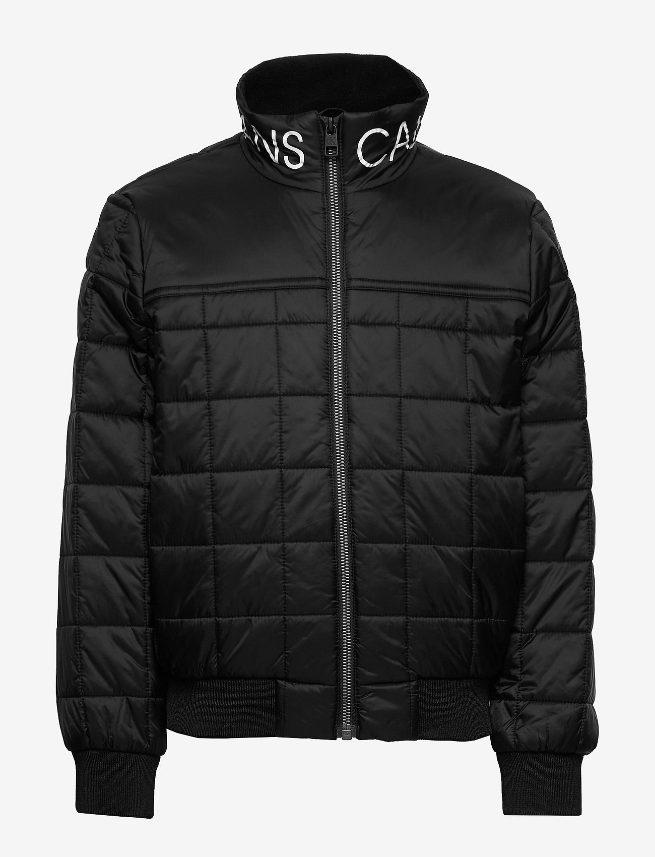 Calvin Klein - SQUARE QUILT LIGHT JACKET - puffer & padded - ck black - 0