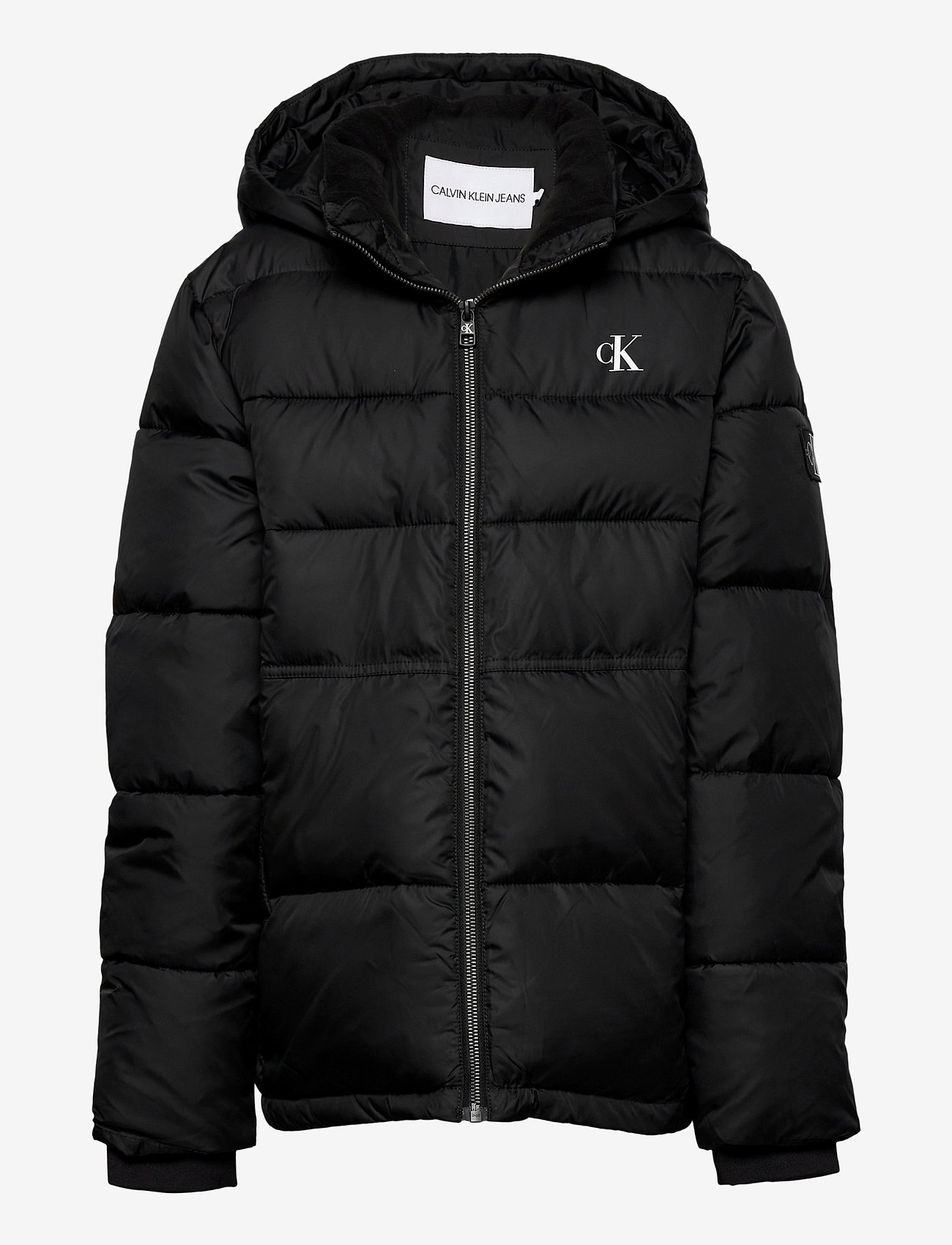 Calvin Klein - ESSENTIAL PUFFER JACKET - dunjakker & forede jakker - ck black - 0