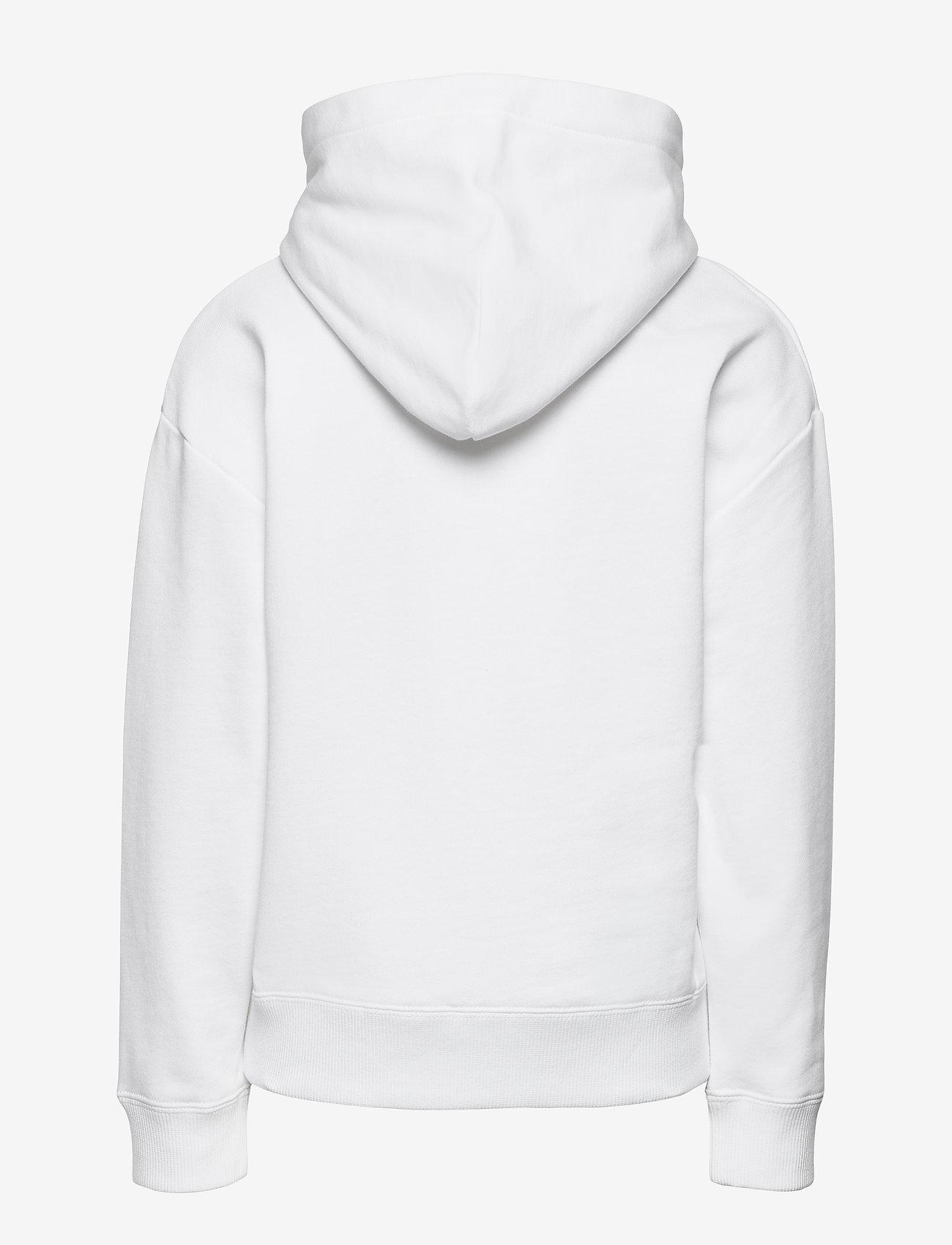 Calvin Klein - REFLECTIVE LOGO HOODIE - kapuzenpullover - bright white - 1