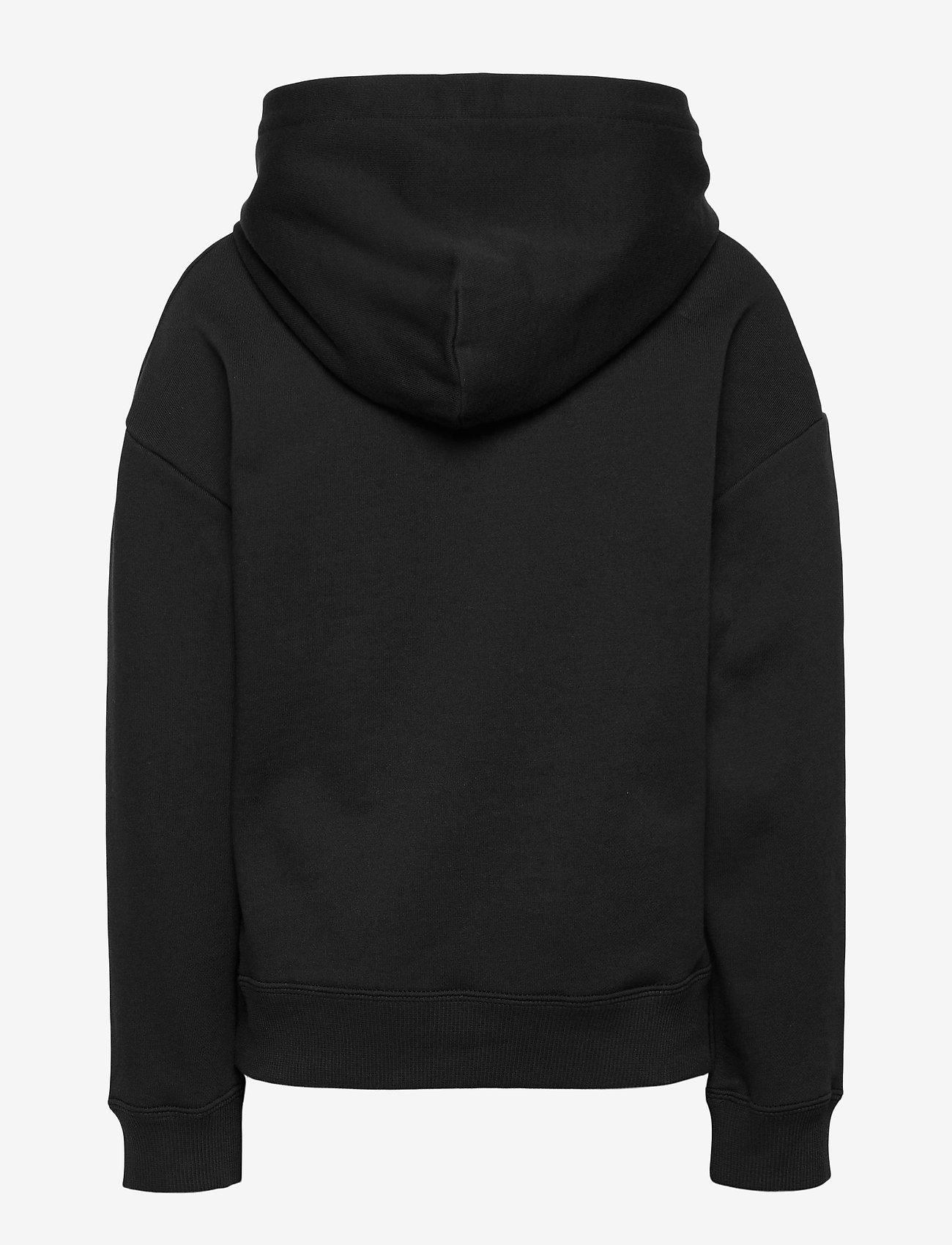 Calvin Klein - REFLECTIVE LOGO HOODIE - kapuzenpullover - ck black - 1