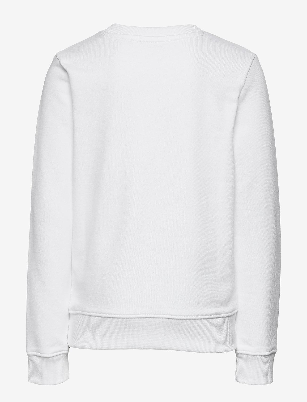 Calvin Klein - REFLECTIVE LOGO SWEATSHIRT - sweatshirts - bright white - 1