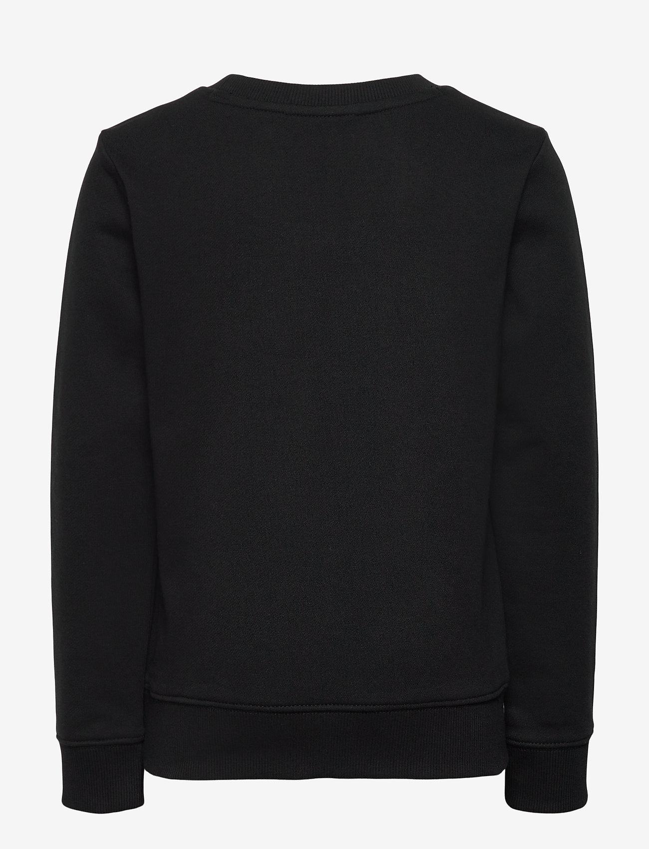Calvin Klein - REFLECTIVE LOGO SWEATSHIRT - sweatshirts - ck black - 1