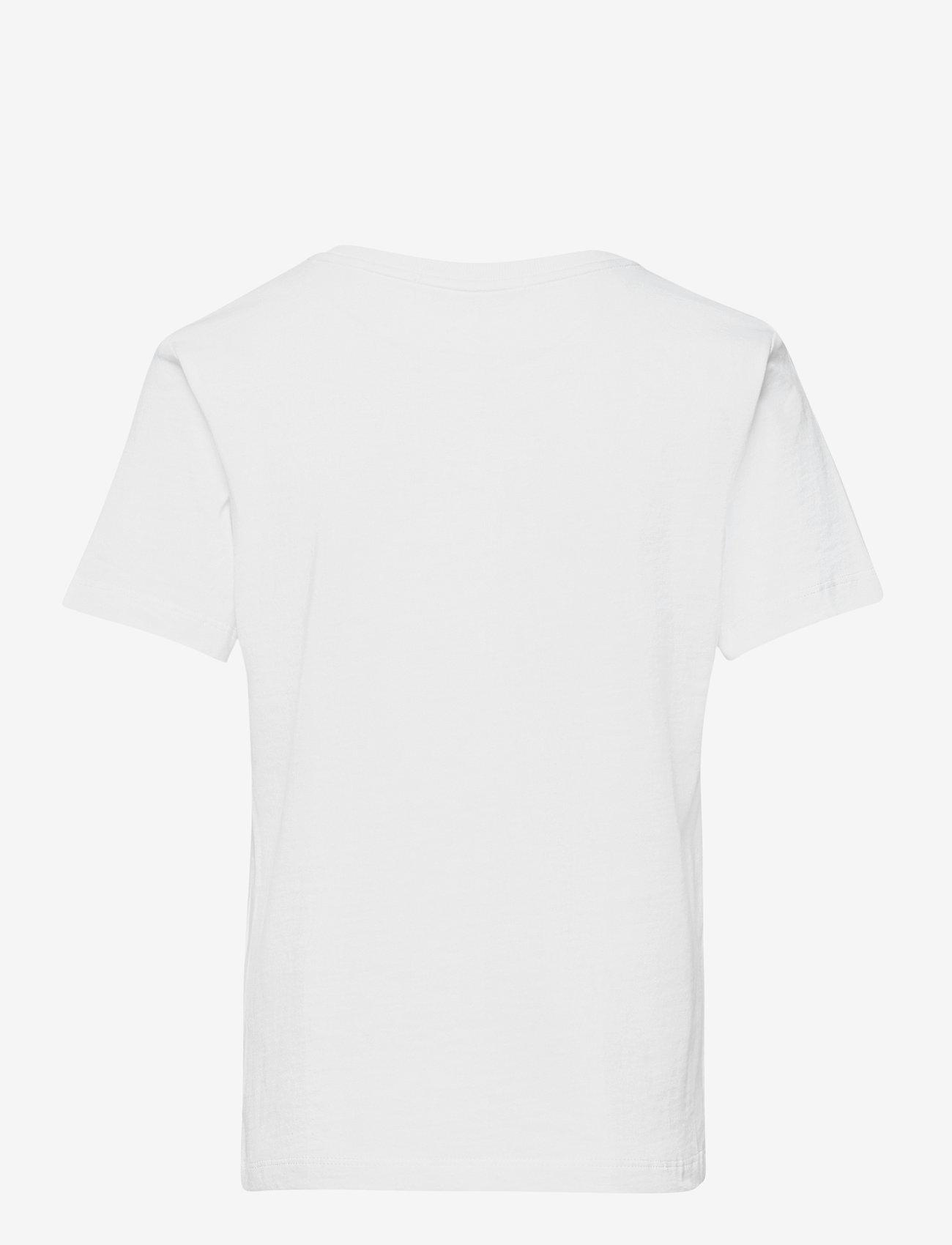 Calvin Klein - LOGO TAPE COLOUR BLOCK T-SHIRT - t-shirts - bright white - 1