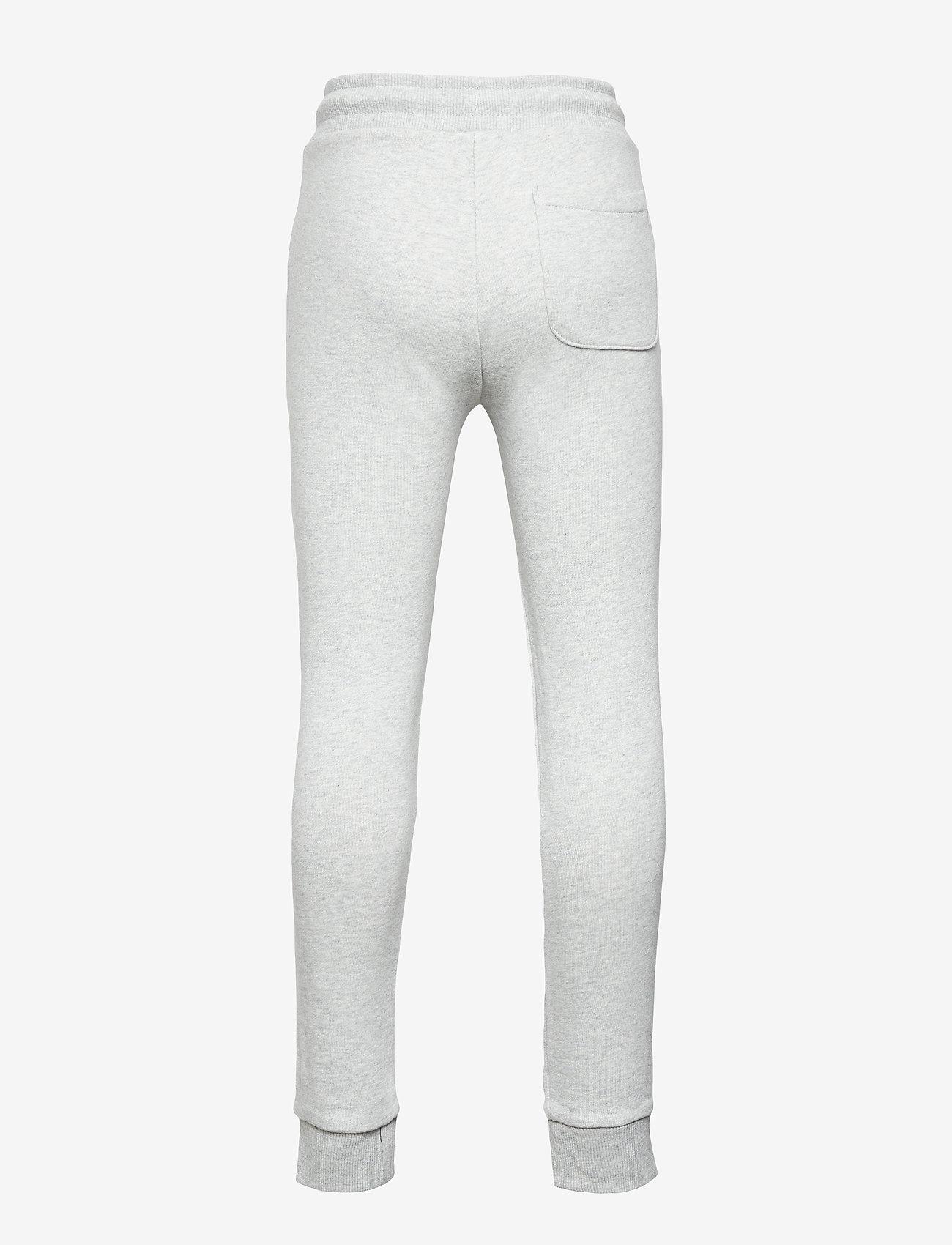 Calvin Klein - REFLECTIVE LOGO SLIM FIT PANTS - jogginghosen - light grey heather - 1