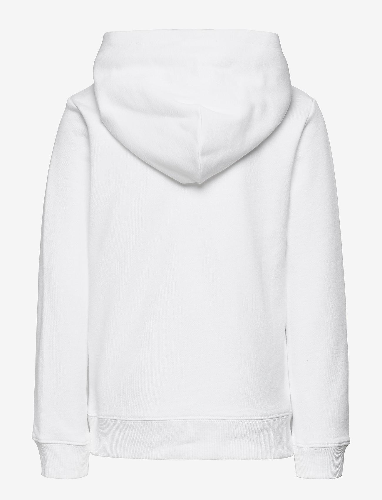 Calvin Klein - MONOGRAM BLOCK HOODIE - kapuzenpullover - bright white - 1