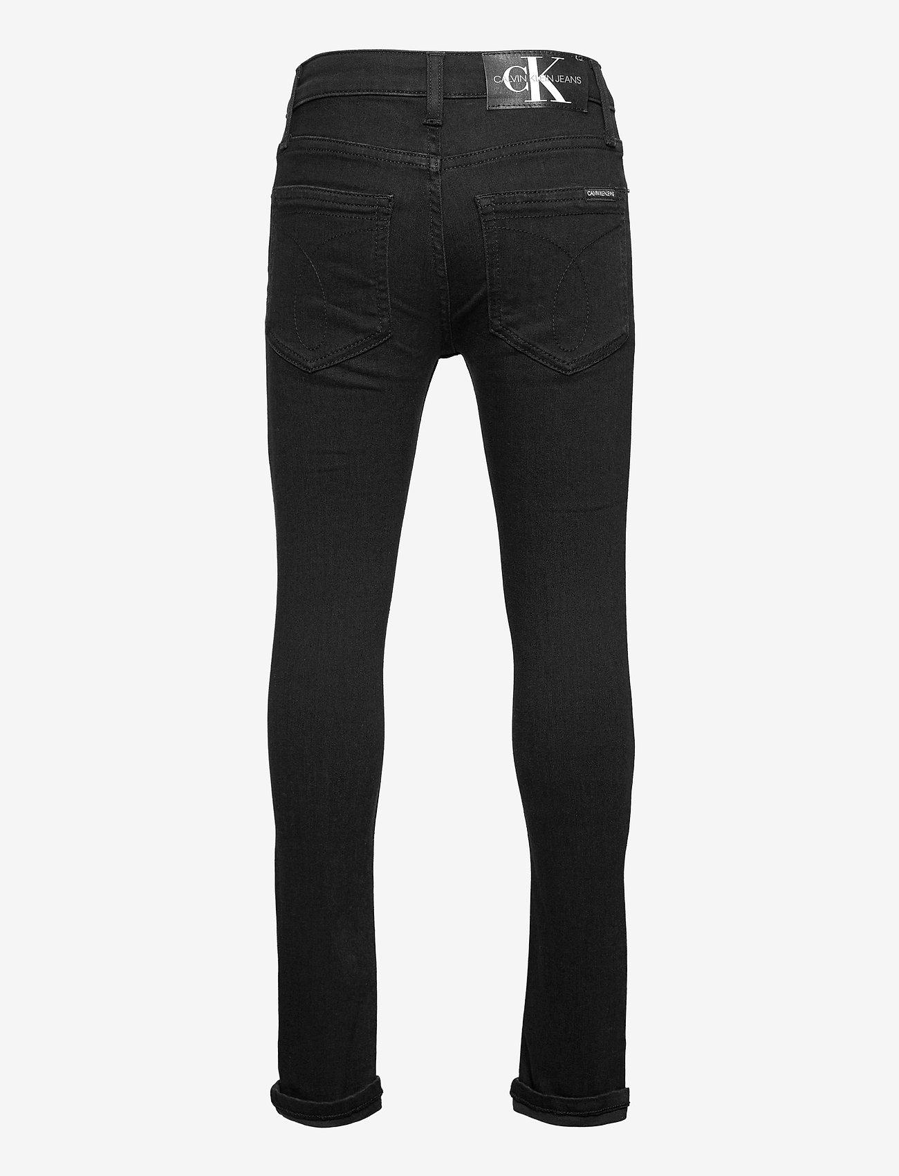 Calvin Klein - SKINNY CL BLK STR - jeans - clean black stretch - 1