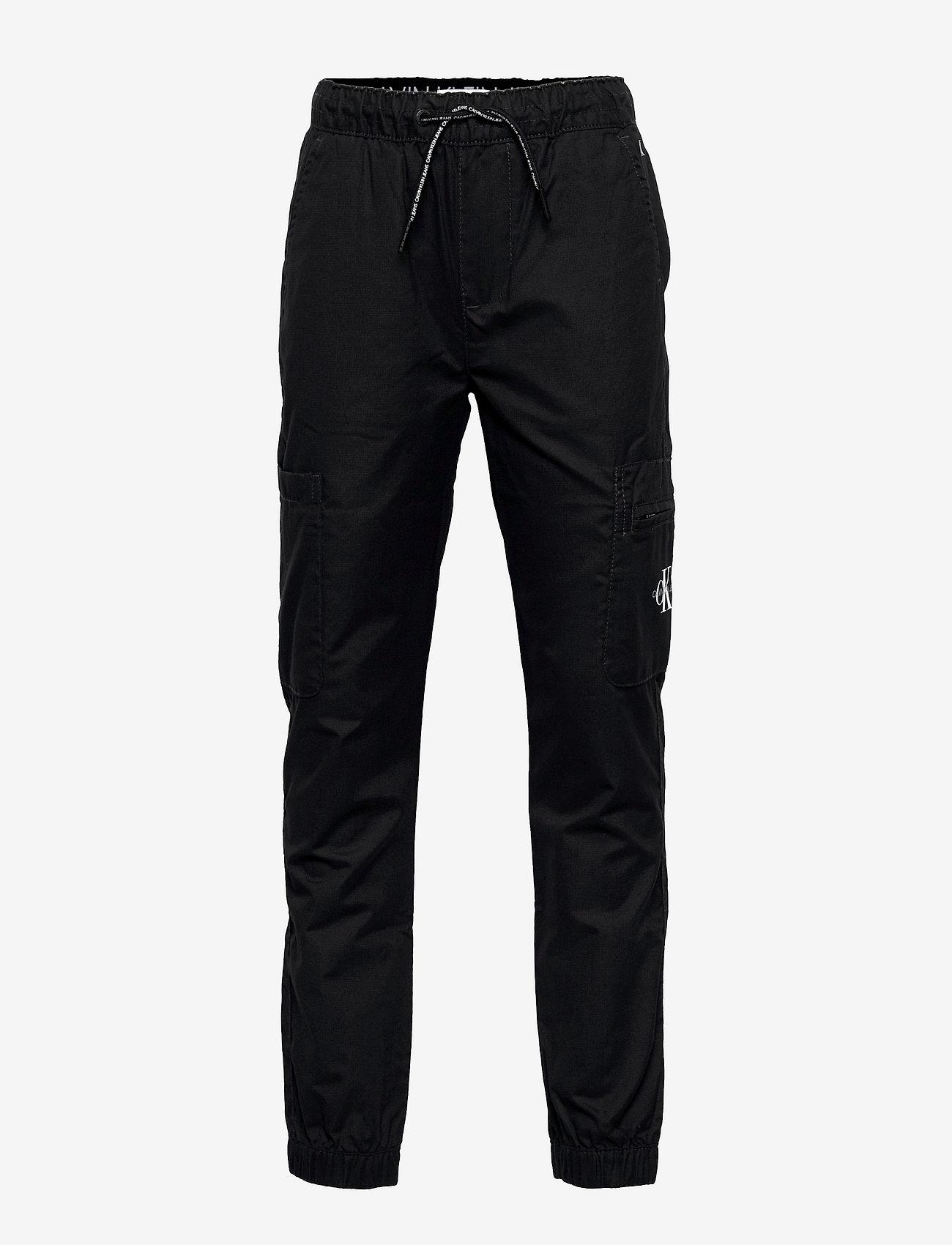 Calvin Klein - FUNCTIONAL POCKET PANTS - trousers - ck black - 0