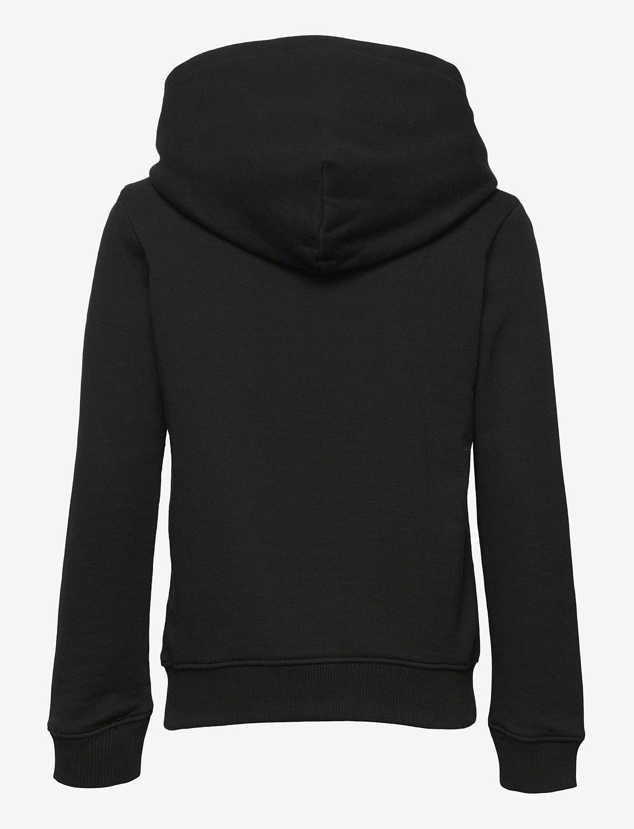 Calvin Klein - HYBRID LOGO HOODIE - kapuzenpullover - ck black - 1