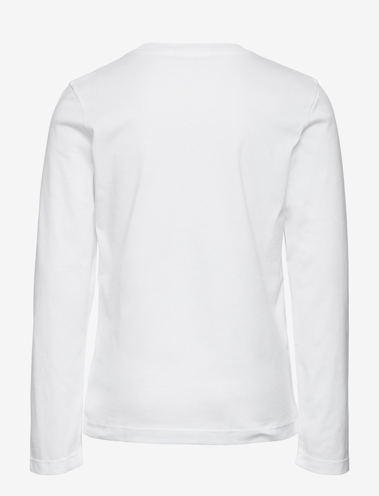 Calvin Klein - SMALL INSTITUTIONAL LS T-SHIRT - langärmelig - bright white - 1