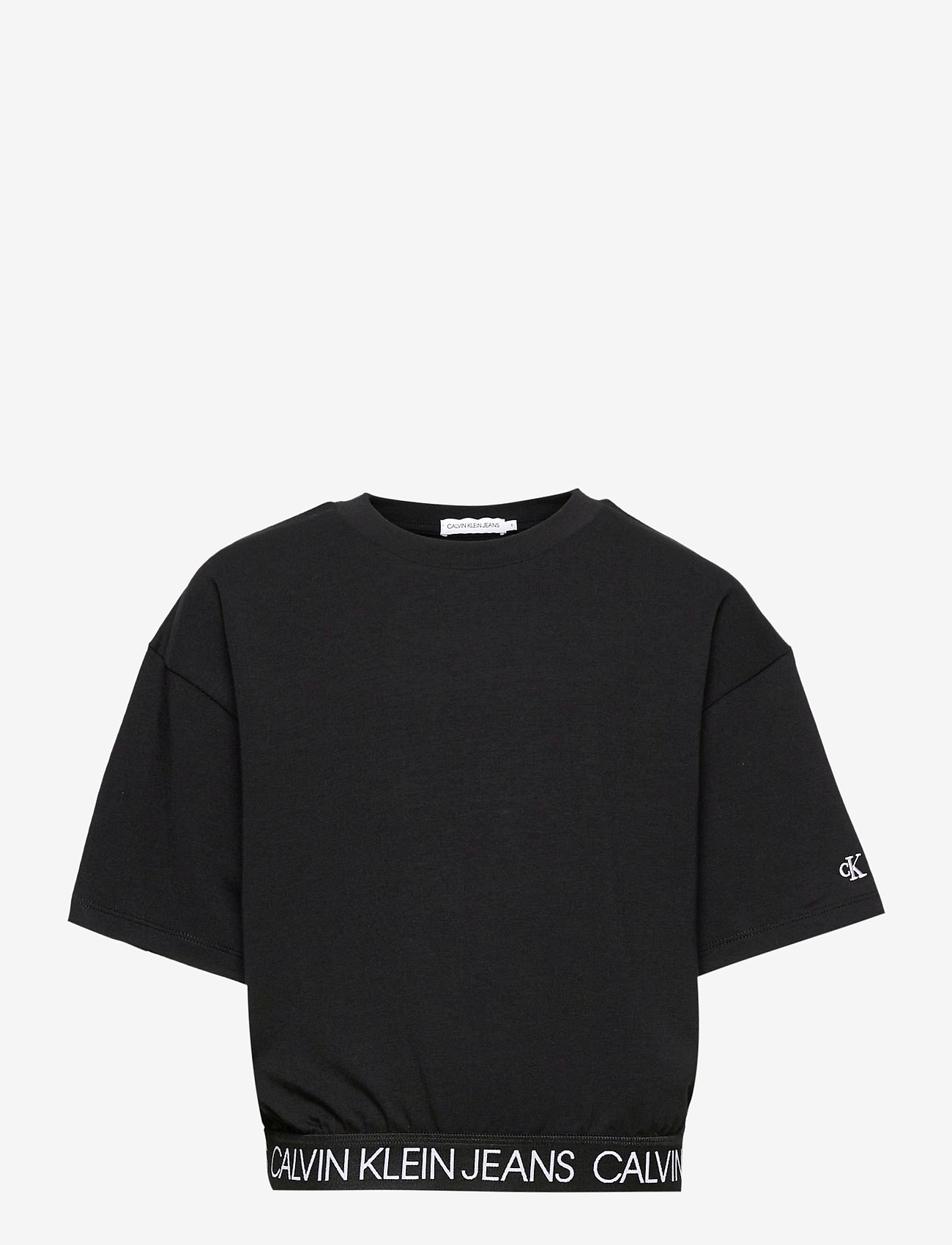 Calvin Klein - LOGO WAISTBAND CROPP - kurzärmelige - ck black - 0