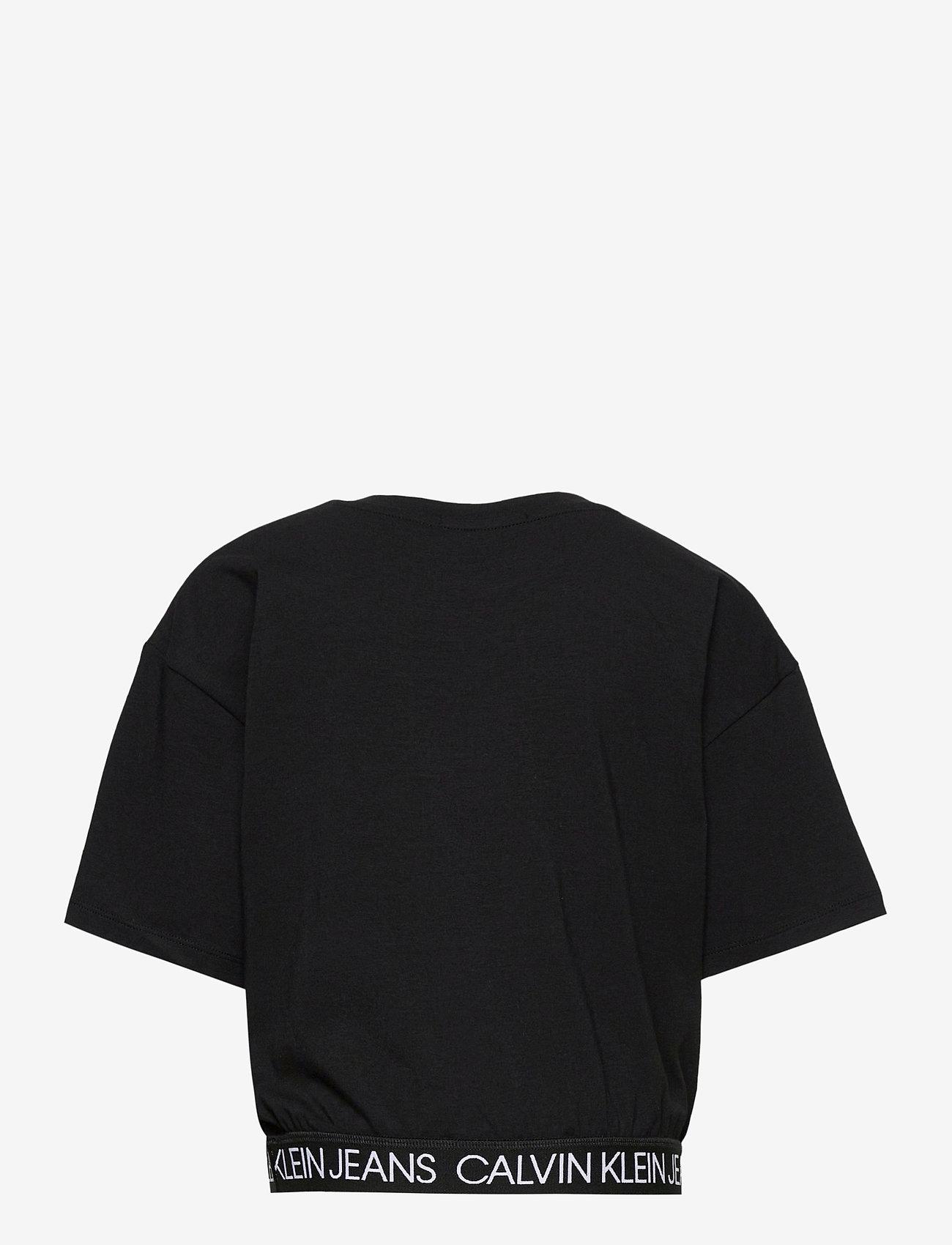 Calvin Klein - LOGO WAISTBAND CROPP - kurzärmelige - ck black - 1